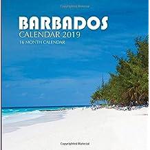 Barbados Calendar 2019: 16 Month Calendar