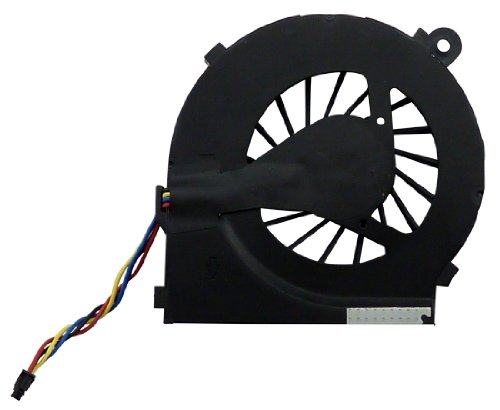 FEBNISCTE Laptop Replacement CPU Cooling Fan without Heatsink for HP Pavilion G6 series, 4 wires, Not fit HP G6-2000