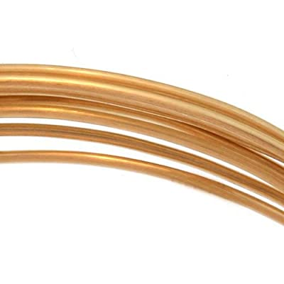 14K Gold Filled Wire 20 Gauge Round Dead Soft (5 Feet) from uGems