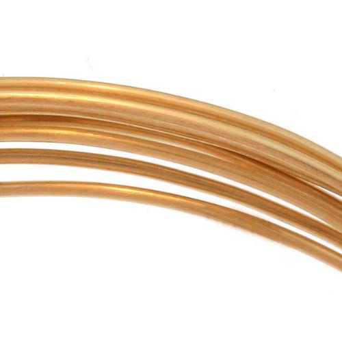 14k Gold Filled Wire - 14K Gold Filled Wire 20 Gauge Round Dead Soft (5 Feet)