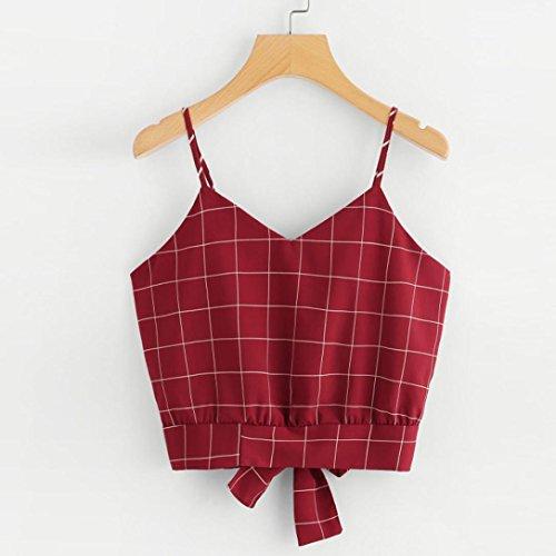 Ballerine SANFASHION Bekleidung Damen Rot SANFASHION Donna shirt122 FqwqxSAI