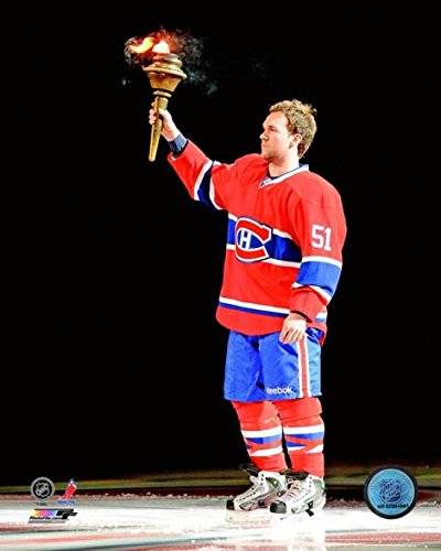 David Desharnais 2012-13 Pre-Game Ceremony Photo Print (11 x 14)