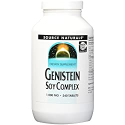 Source Naturals Genistein Soy Complex, Soy's Secret for Women's Health 240 Tablets