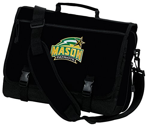 Broad Bay George Mason University Laptop Bag GMU Computer Bag or Messenger Bag by Broad Bay
