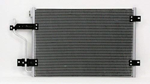 A//C Condenser Pacific Best Inc For//Fit 4983 98-02 Dodge Pickup With Block Fitting Diesel Engine Only