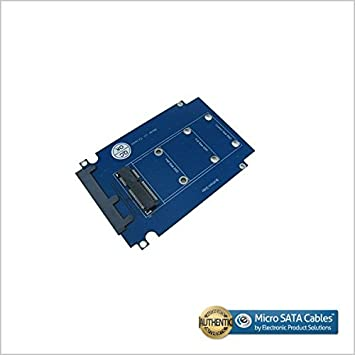 SATA II to mSATA Adapter with 2.5 Inch Housing
