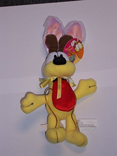 RUSSELL STOVER PLUSH VINTAGE 11 INCH ODIE THE DOG WITH BUNNY EARS