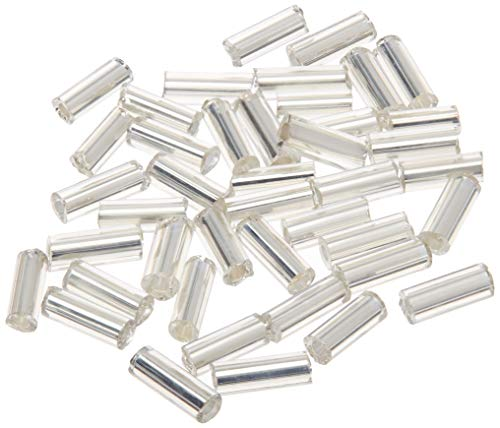 Jewelry Designer 5Mm Silver Lined Bugle Beads 100 Grams (Beading Bugle 100 Beads Grams)
