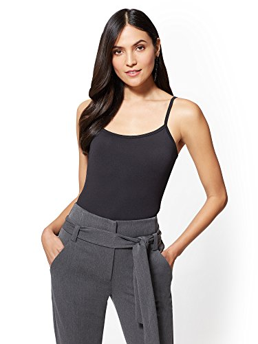 New York & CO. Women's Original Bodyshaper Stretch Camisole - Solid XLarge (New York Womens Tank Top)