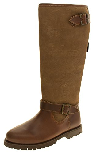 Boots Womens Leather Knee Brown TERRITORY NORTHWEST Weatherproof High T1YCRT