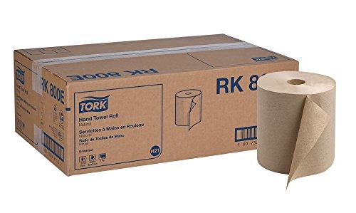 (Tork Universal RK800E Hardwound Paper Roll Towel, 1-Ply, 7.87