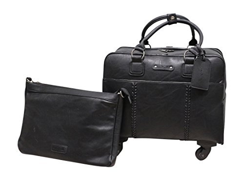 Simpy Noelle Braided Roller Bag - Black by Simply Noelle