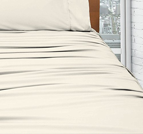 SHEEX DRIRELEASE Sheet Set with 2 Pillowcases (King, Ivory)