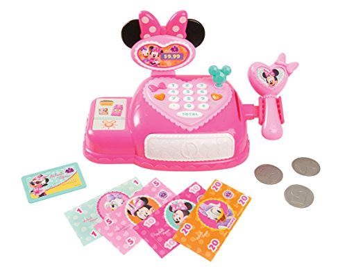 Just Play Minnie Bow Tique Cash Register