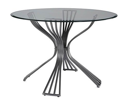 (Powell's Furniture Delgado Dining Table in Metal )