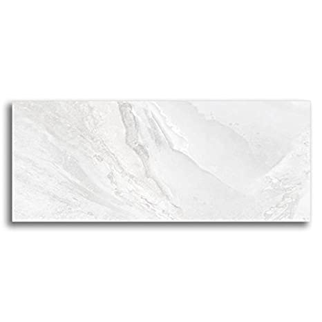 Pavimento Gres Onice Bianco Lucido 30 X 60 Cmmarmo Effetto 1