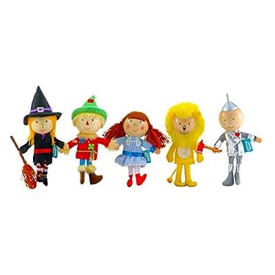 Fiesta Crafts Wizard of Oz Finger Puppet Set: Toys & Games