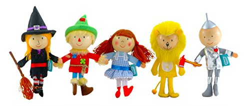 Fiesta Crafts Wizard of Oz Finger Puppet Set -