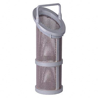 Hayward BS21001/8 Series SB and DB Extra/Replacement Basket for 1/2'', 3/4'' and 1'' Strainer, CPVC, 1/8'' Perforation by Hayward Flow Control