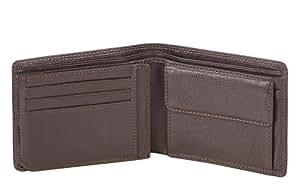 55b86c02f Visconti Cartera de cuero de caballero Trifold cartera (marrón(HT) / brn HT