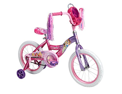 Huffy Bicycle Company Number 21975 Disney Princess Bike, Purple to Pink Fade, 16-Inch