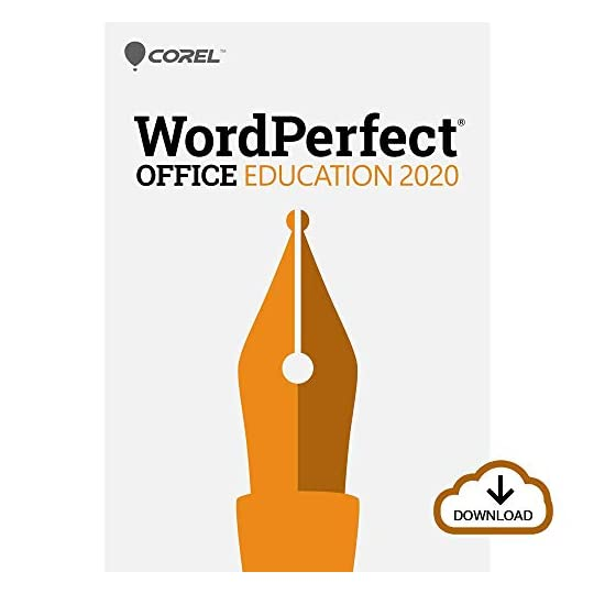 Corel WordPerfect Office 2020 Education | Word Processor, Spreadsheets, Presentations [PC Download] [Old Version]