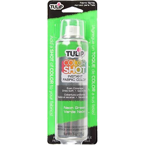 Tulip ColorShot Instant Fabric Color 3oz. Neon Green