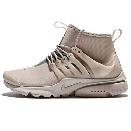 promo code ccc4f 117fd Nike Womens Air Presto Mid-Utility Shoes String Light Bone 859527-200 Size 9