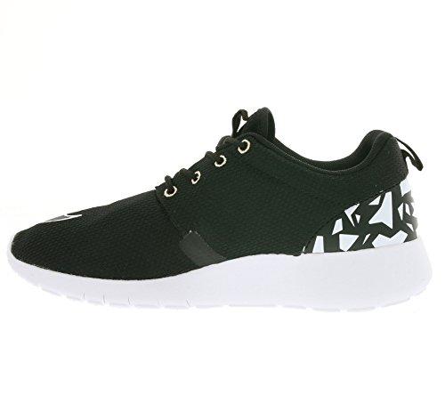 Nike Roshe One Fb (Gs), Zapatillas de Deporte para Niños Negro / Negro / Blanco (Black / Black-Mtlc Rd Bronze-Wht)