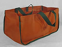 Chimney 71290 Minuteman Weathered Pumpkin Closed-end Log Tote Nylon Polyester Duck