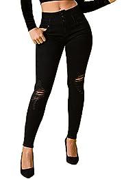 Junior Wannabettabutt 3-Button High-Rise Skinny Jeans