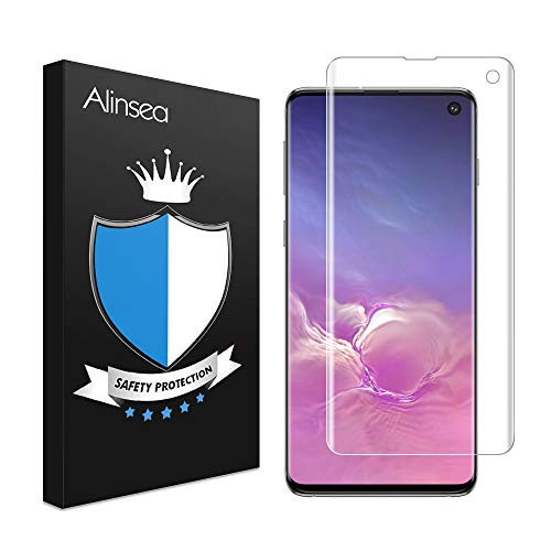 Alinsea Screen Protector for Samsung Galaxy S10 Tempered for sale  Delivered anywhere in Canada