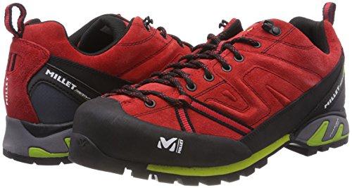 Trident Homme Basses Randonnée Guide Rouge MILLET de Acide Chaussures Vert FC1qg