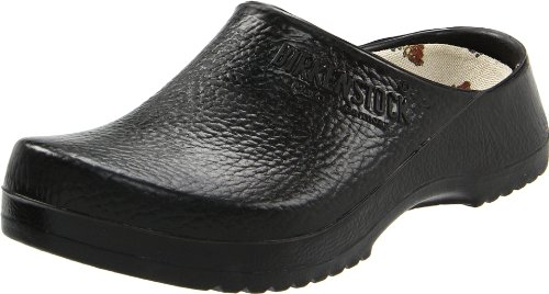Birki's Super Black Birki Clog,Black,36 M EU (5 M US Women/3 M US Men) by Birki's