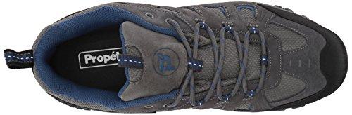 Propét Mens Ridge Walker Low Boot Grigio / Blu