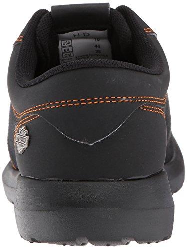Sneaker Jenkins Da Uomo Harley-davidson Nero / Arancione
