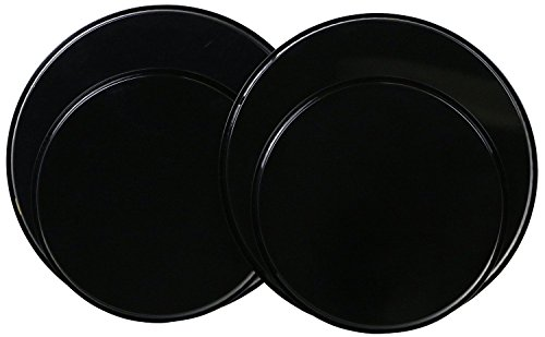 Reston Lloyd Electric Stove Burner Covers Set of 4 Black New