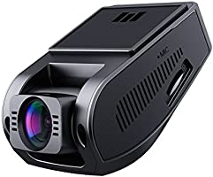 AUKEY 1080p Dash Cam with 6-Lane 170° Wide-Angle Lens, Dashboard Camera Recorder with G-Sensor, WDR, Loop Recording and...