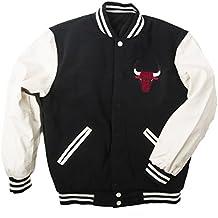 J.H. Design JH Design Men's Chicago Bulls Hooded Reversible Varsity Jacket - Colors
