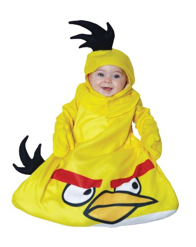 Angry Birds Infant Costume (Yellow) (Angry Birds Yellow Bird Infant Costume)