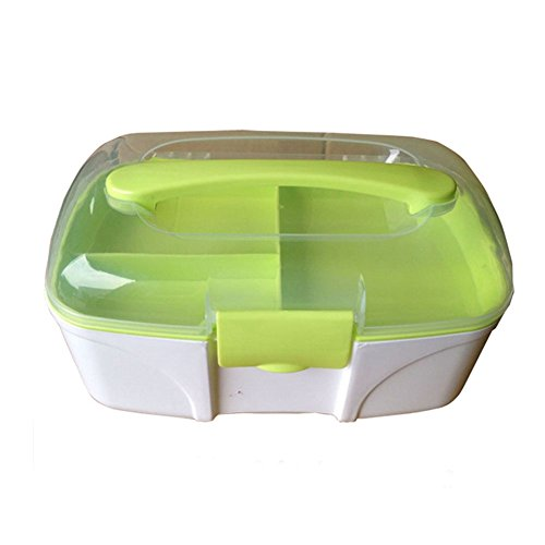 "[GREEN]Creative Small Portable First Aid Kit Travel Medical Box,9.4"" x 4.7"""