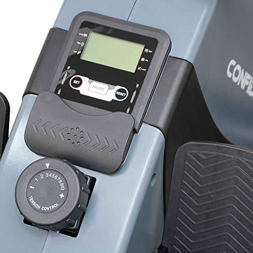 Confidence Fitness Magnetic Rowing Machine with Adjustable Resistance - Foldable - for Home Use by Confidence (Image #3)