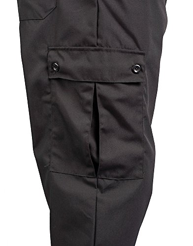 KNG Black Cargo Style Chef Pant, 4XL by KNG (Image #4)