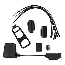 Onlydroid Bike Speed Cadence Sensor, Wireless Bluetooth ANT+ Fitness Tracker Bike Speed and Cadence Sensor Speedmeter for iPhone iPad Wahoo Fitness Strava MapMyRide
