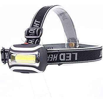 Rugged Blue 3w Cob Led Ultra Bright Headlamp 300 Lumens