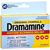 Dramamine 50mg 36ct (2pack)