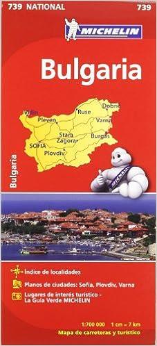 Mapa National Bulgaria (Mapas National Michelin): Amazon.es: Vv.Aa ...
