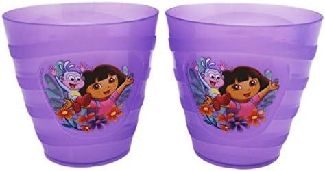 Dora the Explorer Dora AndブーツSmallバイオレット子供用カップ( 2pc )