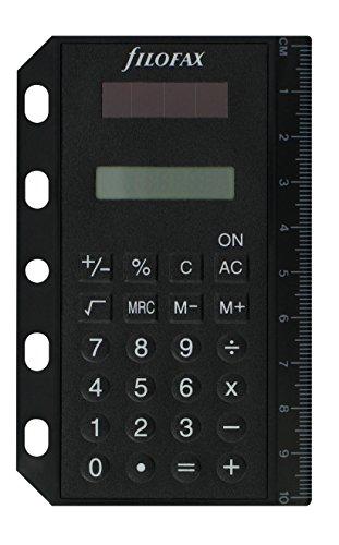 (6 hole size notebook for small/mini) UK Filofax's FILOFAX Solar Calculator [Office Supplies] (japan import) by Filofax