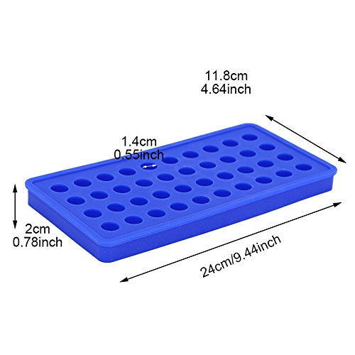 SuperStores Silicone 40 Cavity Round Ball Mold Decorating Tools For Ice Chocolate candy jelly (Homemade Ice Cream Cone Costume)